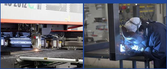 切削・研削・板金・製缶の社内一貫加工。最適な加工方法の選択で、コストとスピードを両立。