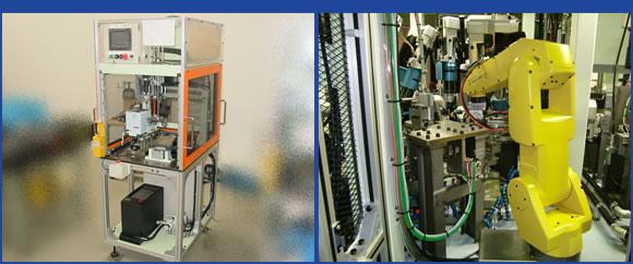 組立装置・検査装置で お客様工程の 省人化 に貢献。大型装置でも、クリーンな環境で組み立て。